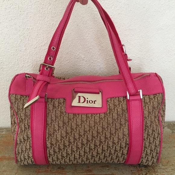 Dior Bags   Fuchsia Boston Bag Wallet   Poshmark 5ef4260532